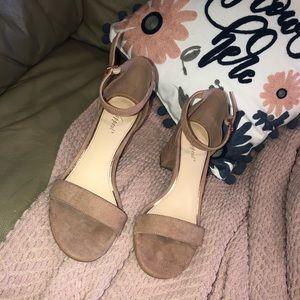 semi formal mid heels